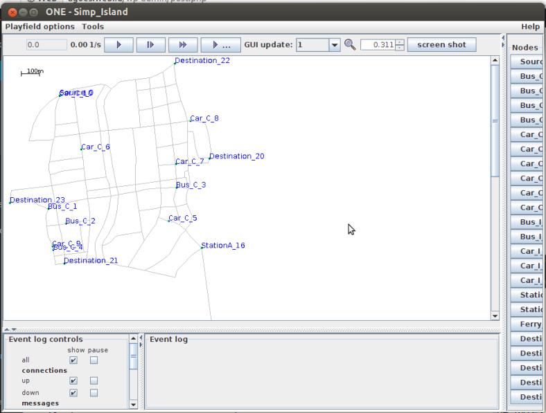 The ONE Simulator, Aplikasi simulasi untuk Delay Tolerant Network